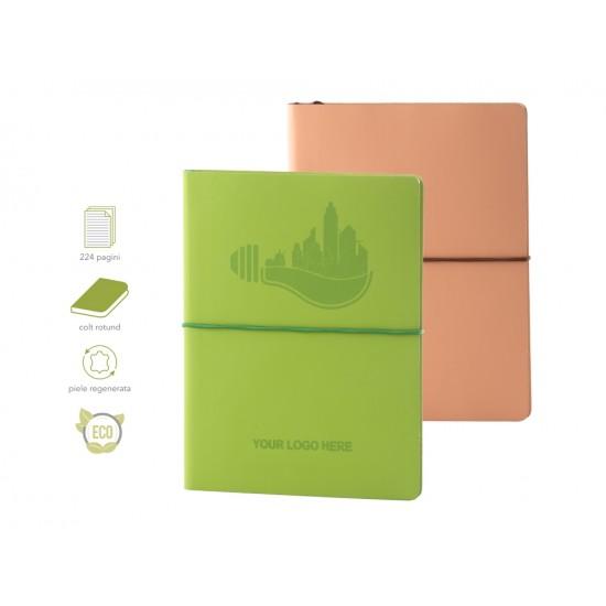 Agenda EcoLeather - piele naturala regenerata bej