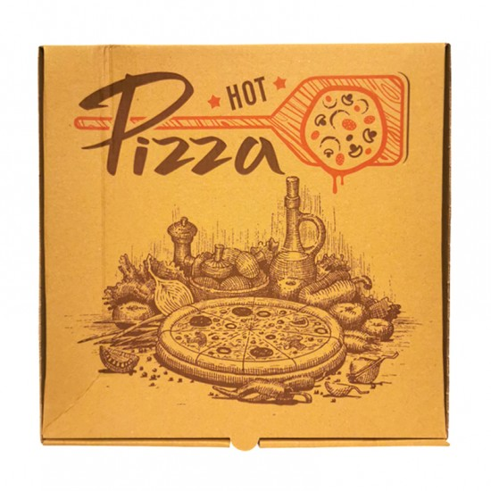 Cutie pizza 40*40*3.5 cm kraft