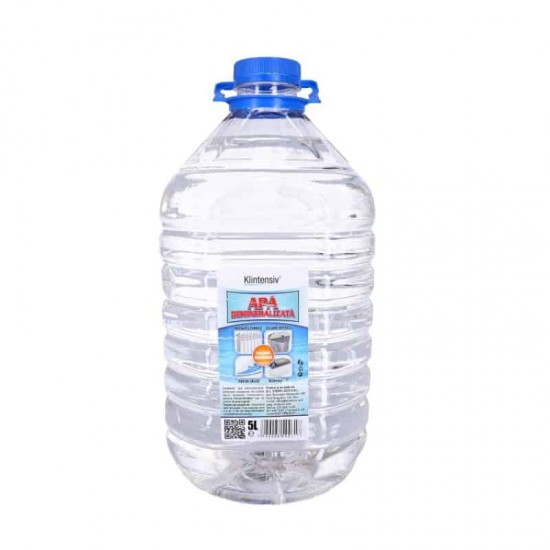 Apa demineralizata KLINTENSIV®, 5 litri
