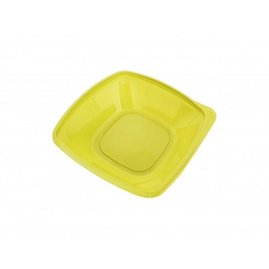 Caserole 1000 gr Patrate, 50 buc/set, capac vandut separat