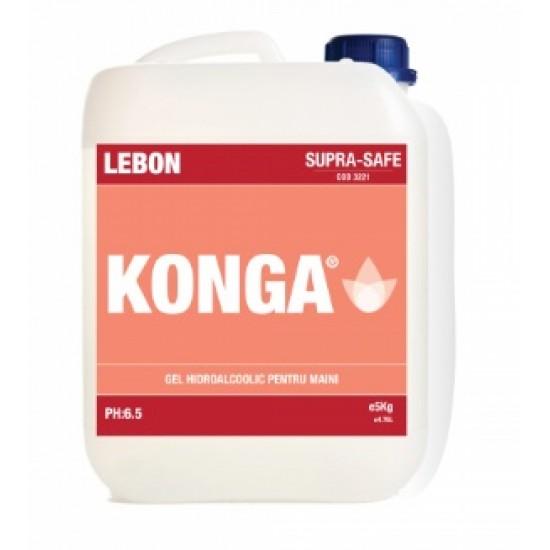 Aviz biocid - Solutie hidroalcoolica pentru dezinfectie rapida Suprafete, 5L, Konga