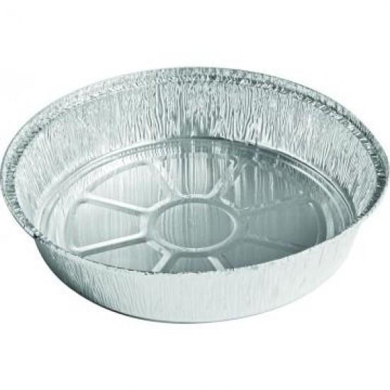 Caserola aluminiu rotunda, 803, 230*230*43 mm, 100 buc/set