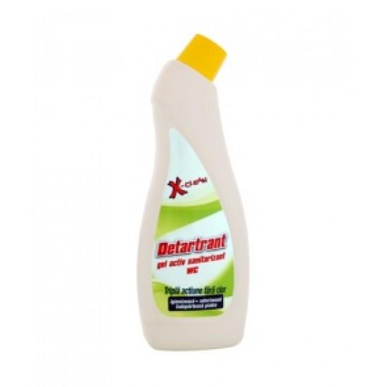 Detartrant gel activ sanitarizant 750ml AQA Choice