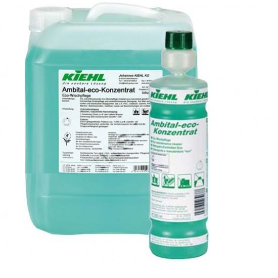AMBITAL ECO CONC-Detergent automat/manual ecologic cu substante de intretinere pentru toate suprafetele, 1L, Kiehl