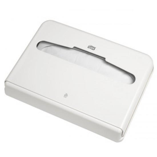 Dispenser acoperitor hartie pentru colac WC, Tork