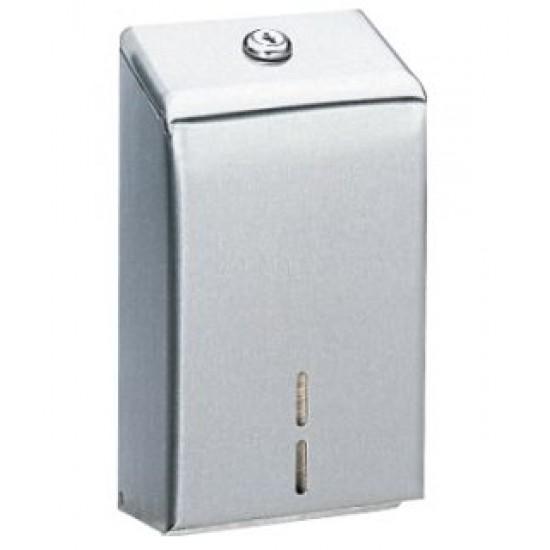 Dispenser hartie igienica pliata, seria Classic, inox satinat, 1330 servetele, Bobrick