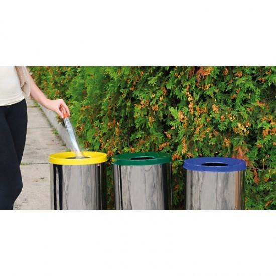 Cosuri gunoi exterior pentru reciclare, 45 L