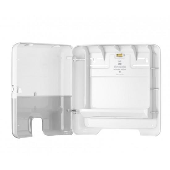 Dispenser servetele Xpress mini Tork, alb, Z fold, capacitate 200 servetele