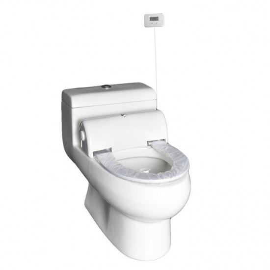 Capac de toaleta electronic cu senzor, Navisani, cu numaratoare