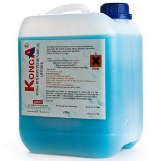 Detergent Floor Shine Manual 5 litri Konga
