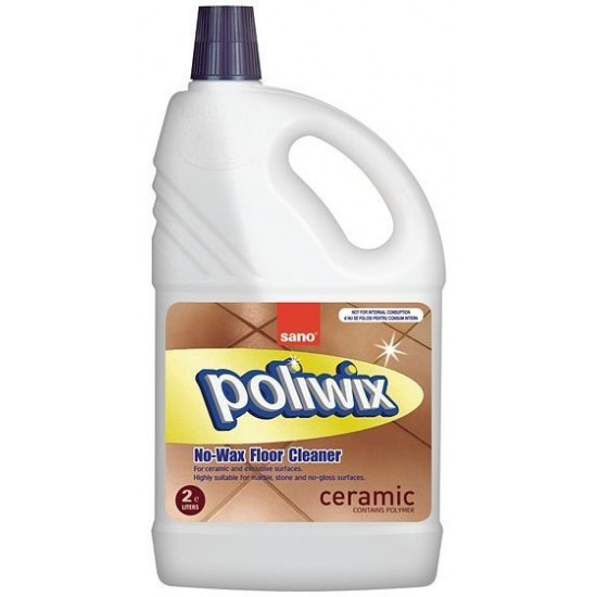 SANO POLIWIX CERAMIC Manual, 2l, detergent pardoseala
