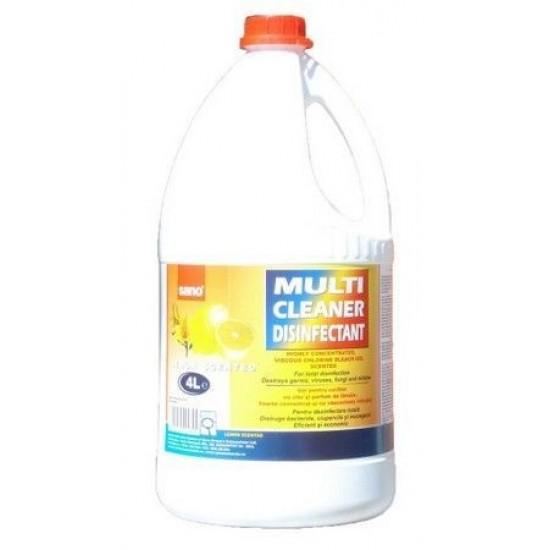 SANO MULTI CLEANER Igienizant, 4l, gel cu clor si parfum lamaie