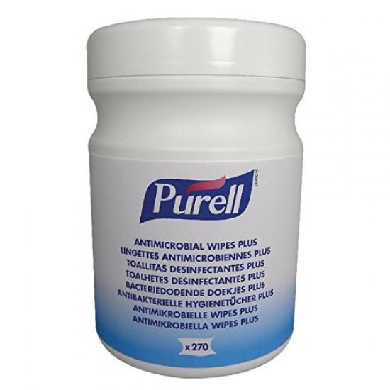 Servetele antimicrobiale Purell, 270 buc pe canistra