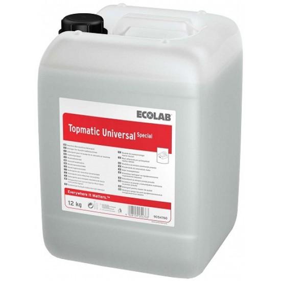 Detergent lichid pentru mașinile de spălat vase TOPMATIC UNIVERSAL SPECIAL 25kg Ecolab