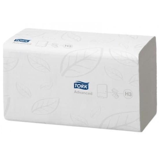 Prosoape hartie pliate gofrate  250 buc / pachet, 2 straturi, Tork