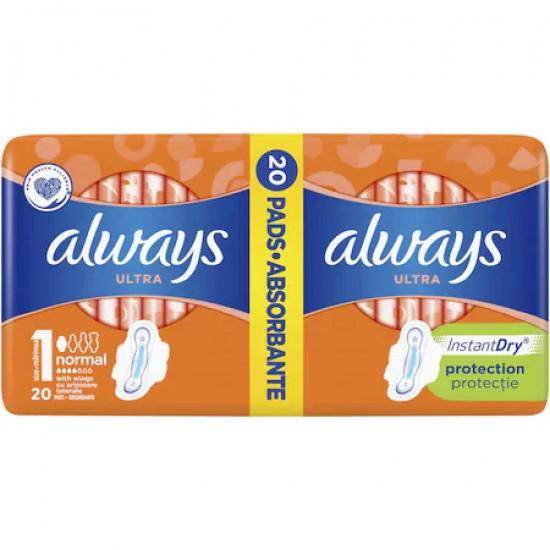 ALWAYS Ultra Plus DuoPack 18