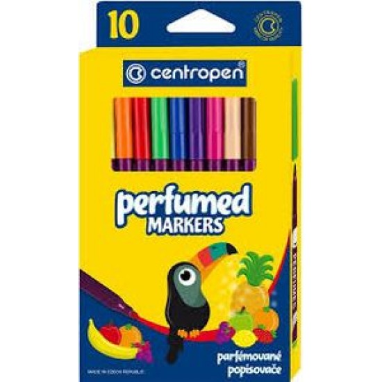 Carioca Centropen 2589 Perfumes - 10 culori/set