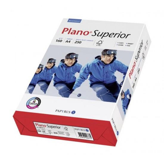 Carton copiator A4, 160g, alb, Plano Superior, 250coli/top