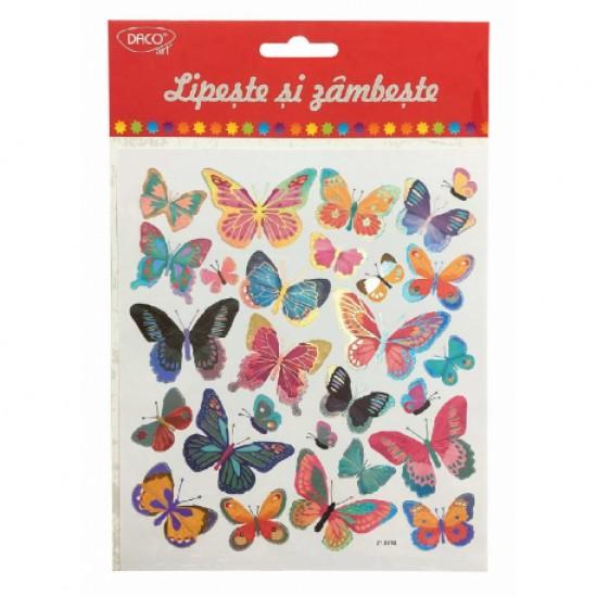 Abtibild - ab058 fluturi lipeste si zambeste daco