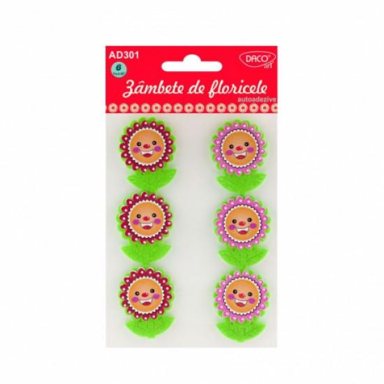 Accesorii craft - ad301 zambete de floricele daco