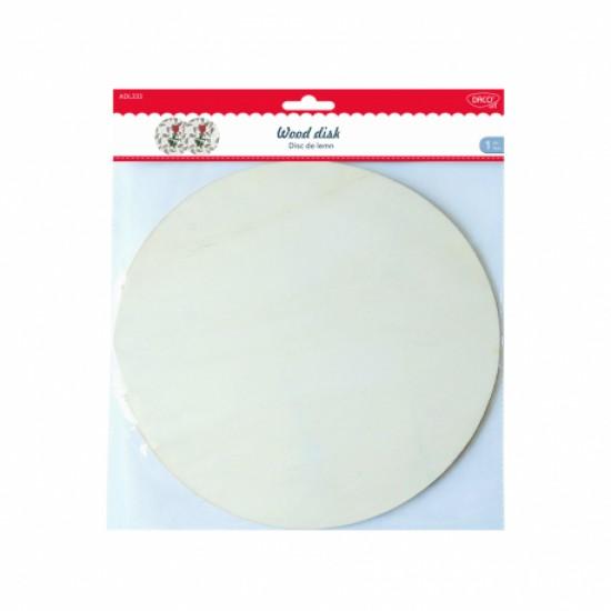 Accesorii craft - adl333 disc de lemn 25.5cm daco