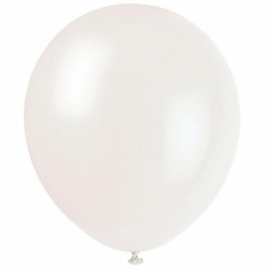 Balon set 100 alb