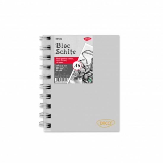 Bloc a6 schite 120g 80 file daco bd612