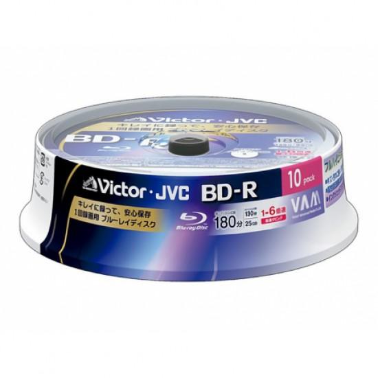 Blu ray printabil jvc 25gb 6x cake box 10pcs