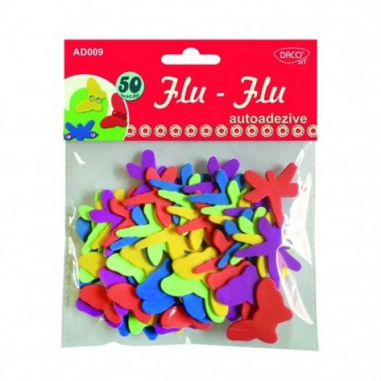 Accesorii craft - ad009 insecte autoadezive flu-flu