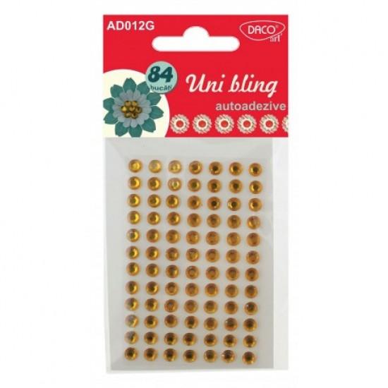 Accesorii craft - ad012 galben diamante aa uni bling