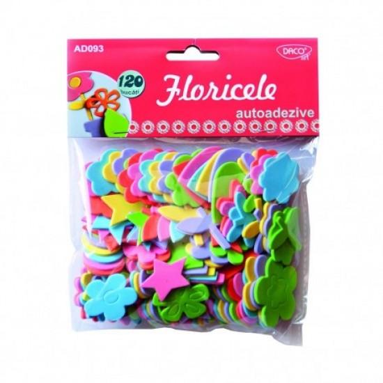 Accesorii craft - ad093 floricele spuma aa daco