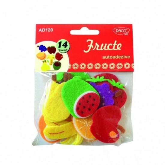 Accesorii craft - ad120 fructe aa pasla daco