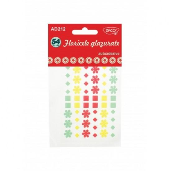 Accesorii craft - ad212 floricele glazurate daco