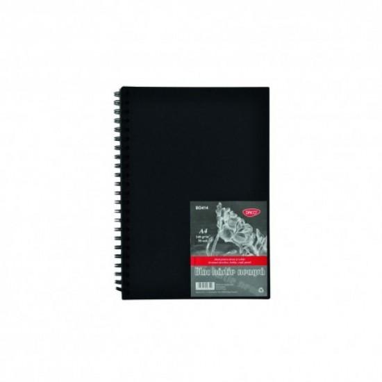 Bloc a4 hartie neagra 140gr 30 file daco bd414