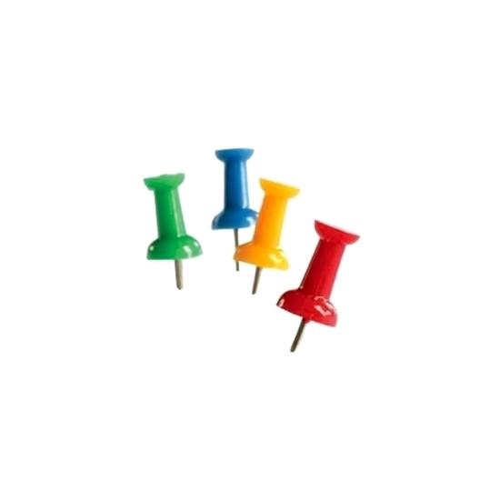 Ace Memoris-Precious, pentru tabla de pluta, 50 bucati/cutie, divers colorate