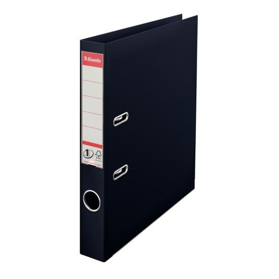 Biblioraft Esselte No.1 Power, PP/PP, A4, 50 mm,  VIVIDA negru