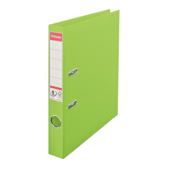 Biblioraft Esselte No.1 Power, PP/PP, A4, 50 mm, VIVIDA verde