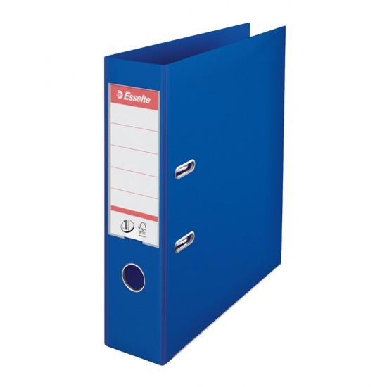 Biblioraft Esselte No.1 Power, PP/PP, A4, 75 mm, albastru