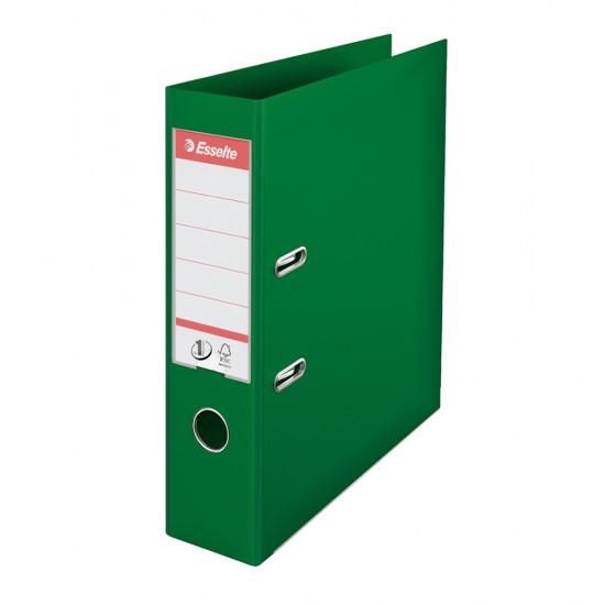 Biblioraft Esselte No.1 Power, PP/PP, A4, 75 mm, verde