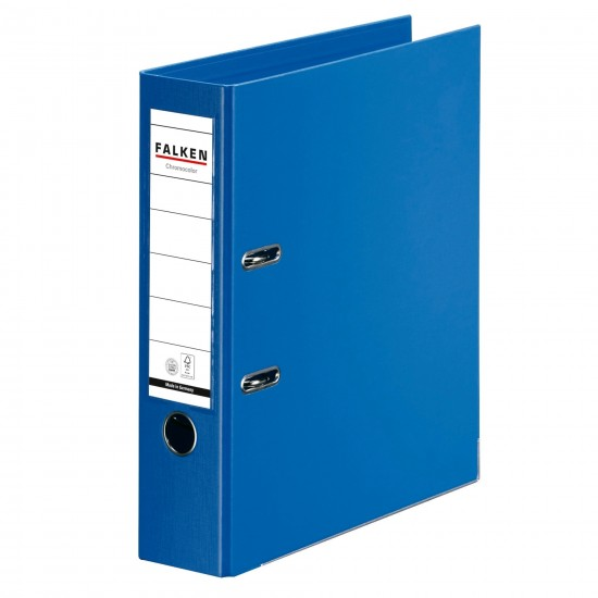 Biblioraft Falken Chromocolor, 80 mm, albastru