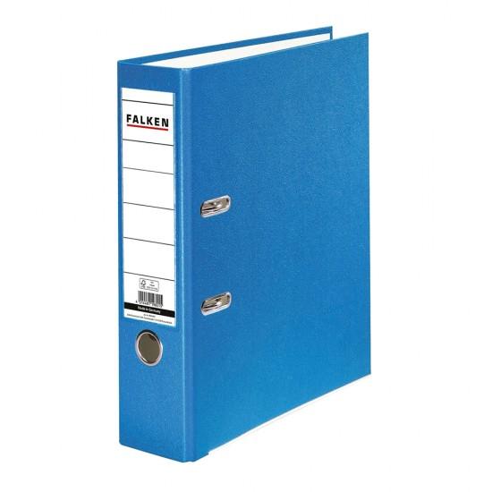 Biblioraft Falken plastifiat, 50 mm, bleu