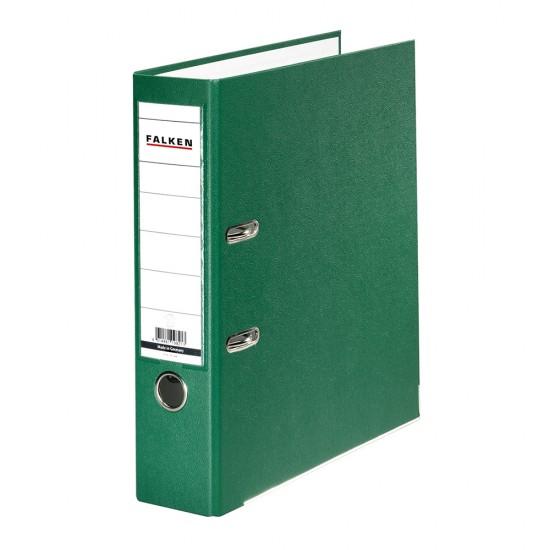 Biblioraft Falken plastifiat, 50 mm, verde
