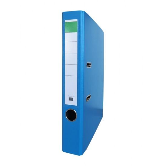 Biblioraft PP/carton, 50 mm, bleu