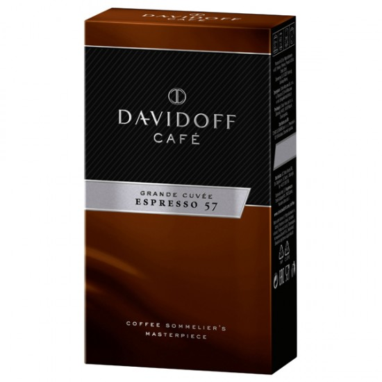Cafea macinata Davidoff Espresso 57, 250 g