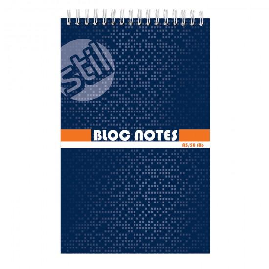 Blocnotes A5, matematica, 50 file