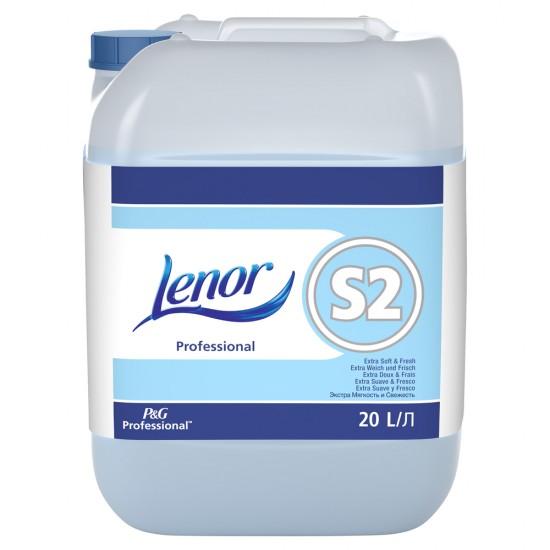 Balsam rufe Lenor S2 Extra Soft, 20 l