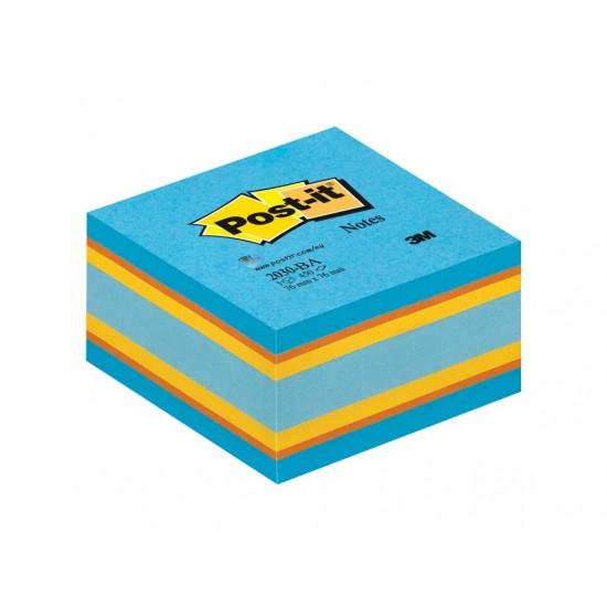 Cub notițe adezive Post-it® Briliant