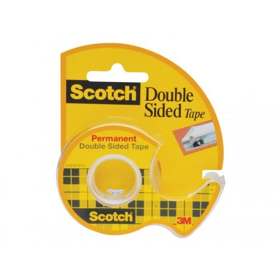 Bandă dublu adezivă Scotch® cu dispenser