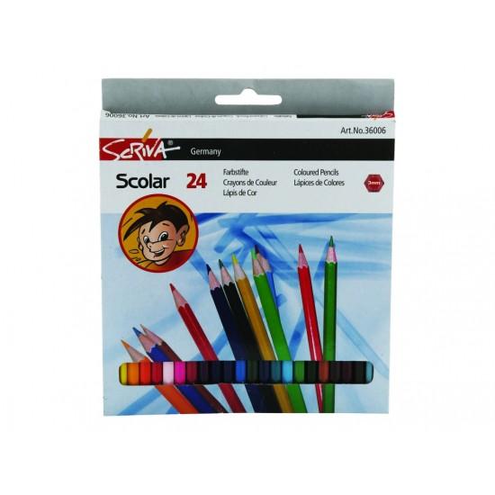 Creioane color Scriva 24/set