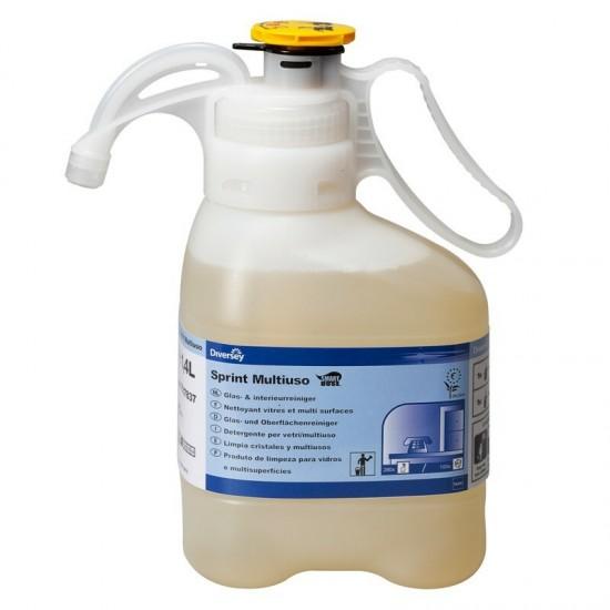 Detergent sticla si suprafete lavabile TASKI Sprint Multiuso SmartDose, Diversey, 1.4L